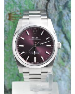Rolex Oyster Perpetual 03/2018 Ref. 114200 Box & Papiere