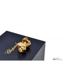 CHOPARD CASMIR OHRRINGE 750-/18K GELBGOLD MIT BOX