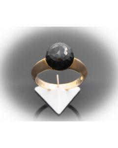 Ring Bergkristall Jette Joop 14 k Gelbgold 6,0 Gramm Rg 60