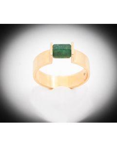 Ring Turmalin 18 K Gelbgold 5,2 Gramm Rg 55