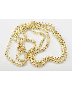 Halskette Venezianer 14K Gelbgold 61cm