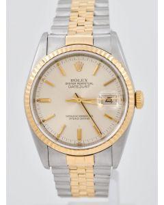 Rolex Datejust 16233 Stahl/Gold 1991