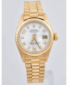 Rolex Lady-Datejust 6917 18K Gold