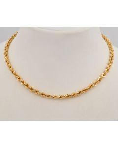 Halskette 18K Gelbgold 52cm