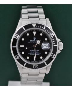 Rolex Submariner Date Stahl 16610 1990 Box & Papiere