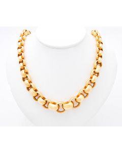 Halskette 750 Gelbgold 62,7Gramm 46 cm Verschlussert Karabiner