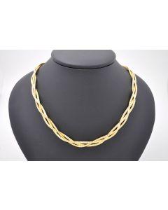 Colier Halskette 585 Gelbgold 36,1Gramm 43 cm
