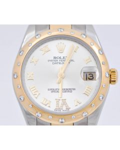 Rolex Lady Datejust 178343 Automatik 31 mm Stahl Gold Diamond 2235 Fullset 30.06.2012