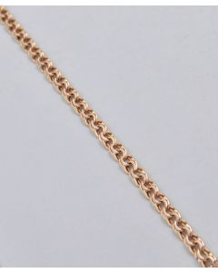 Armband 14K Rotgold 18,5cm