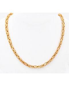 Königskette Halskette 14K Gelbgold 57,2 Gr. 50 cm