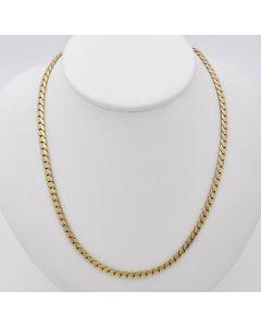 Halskette Kette Collier 14K Gelbgold 26,5g 47cm