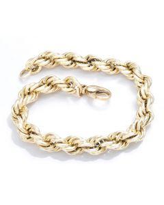 Armband 14K Gelbgold 21,5 cm, Juwelier Elbschmuck