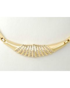 Collier 18k Gold Brillanten