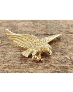 Adler Anhänger 333 Gelbgold