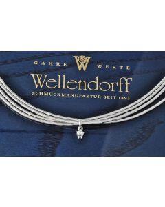Wellendorff Collier Sonnenglanz 750 Weißgold BOX & WELLENDORFF ZERTIFIKAT