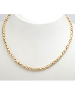 Königskette 14K Gelbgold 57 cm