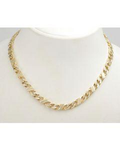 Halskette 14K Gelbgold 60 cm