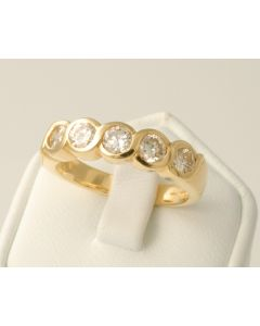 Brillant Ring 18K Gold MODERN