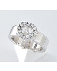 Chopard Ring Happy Diamond 750 Weißgold 13 Brillanten