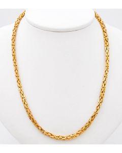 Königskette Halskette Kette 14 K Gelbgold 23 g. 42,5 cm