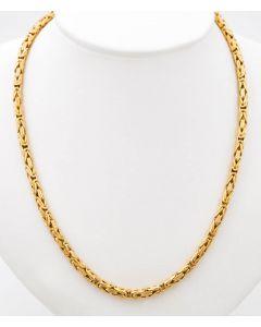 Königskette Halskette Kette 14 K Gelbgold 43,1 g. 61 cm