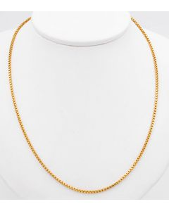 Venezianer Halskette 18 K Gelbgold 10,4 g 60 cm