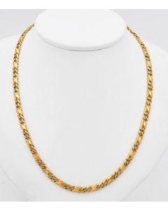 Panzer Halskette 8 K Gelbgold 18,2 g 50,5 cm