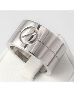 Cartier LOVE Ring 750 Weißgold Aldo Cipullo Größe 49 TOP