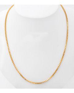 Venezianer Halskette  585 / 14 K Gelbgold  13,3 g  60 cm