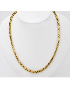 Königskette Halskette Kette 14 K Gelbgold 42 g. 58 cm