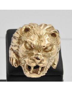 Löwenkopf Ring