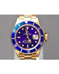 Rolex Submariner Date 16618 Gold BJ 1991