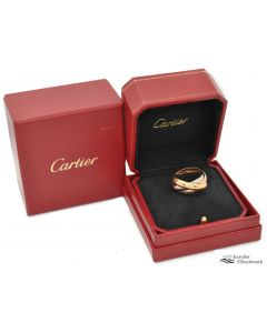 CARTIER TRINITY RING 18K/750 TRICOLOR GOLD Gr.69