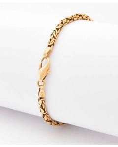 Königs Armband  585 Gelbgold 13,7 g 22 cm