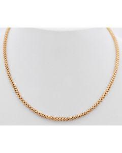 Halskette 14 k Gelbgold 56 cm 9 Gramm