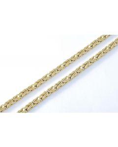 Königskette 14K Gelbgold 92 cm 79,3 gr