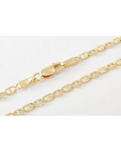 Halskette 14K Gelbgold 58 cm