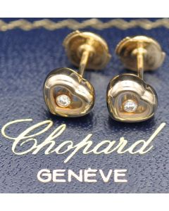 Chopard Happy Diamonds Ohrstecker Herz 750 Gold 83/4854 NEUWERTIG