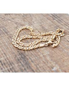 Halskette Christ 14K Gelbgold  43 cm
