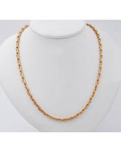 Ankerkette Halskette Kette 14 K Gelbgold 19,1 g. 44 cm