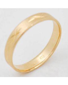 Ring 585 Gelbgold 3,0 g Rg. 62