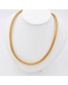 Halskette Kette Collier 14K Gelbgold 30,2g 42cm