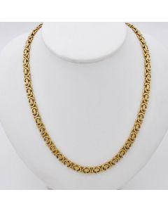 Halskette Kette Collier 14K Gelbgold 42,1g 54cm