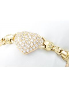Brillantarmband 750 Gelbgold 8,82 ct 147 Brillanten