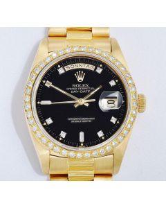 Rolex Day Date 18k Gold 18038 Borke 1981