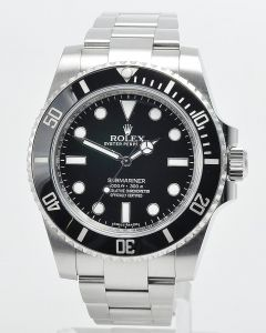 Rolex Submariner No Date 114060 Full Set LC100 2016