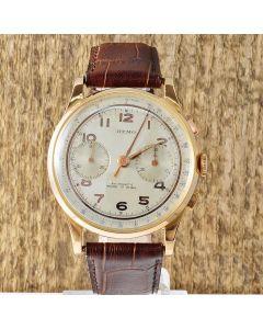 Remo Vintage Chronograph 18k Gold Handaufzug