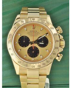 Rolex Daytona Cosmograph 750 Gold 116528 BOX PAPIERE 2007
