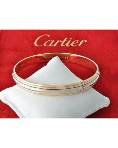 Cartier Armreifen 1990 Tricolor 750 Drehreifen