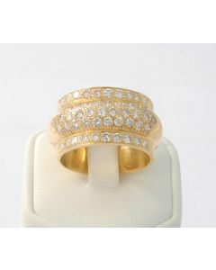 Ring 750 Gelbgold Brillantring 1,5 Karat